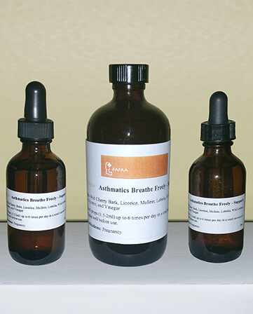Asthma Herbal Extracts